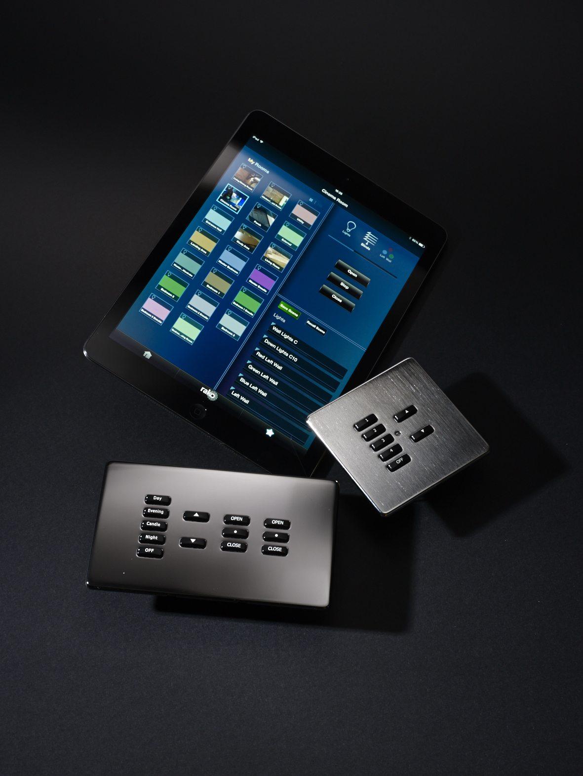Rako switches and ipad app